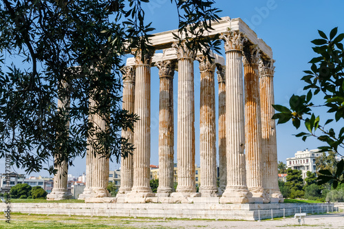 Foto op Canvas Athene Olympieion in Athen