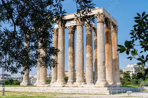 Fotobehang Athene Olympieion in Athen