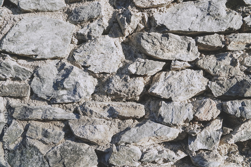 Plexiglas Stenen Grey stone texture and background. Rock texture.