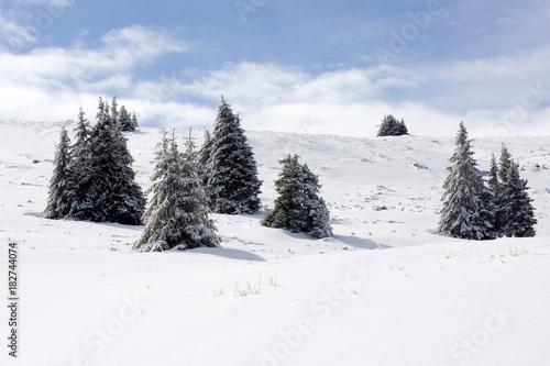 Papiers peints Blanc Mountain