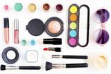 Cosmetics on white background - 182745426
