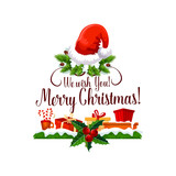 Merry Christmas happy holiday design - 182779811