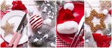 Collage from  Christmas  photos. - 182788002