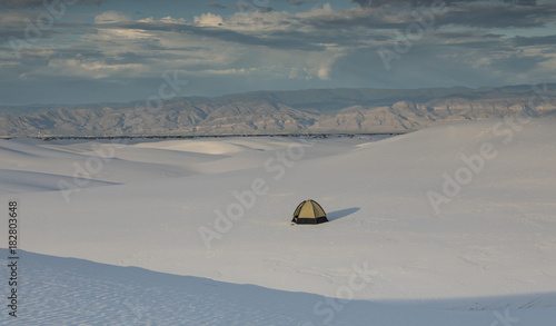 Keuken foto achterwand Grijs new Mexico white sands