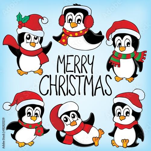 Papiers peints Enfants Merry Christmas subject image 6