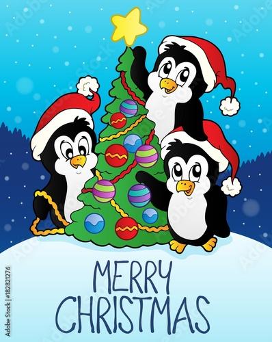 Papiers peints Enfants Merry Christmas subject image 7