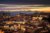 Architecture of Cagliari in Sardinia. Very popular place to visit in Italy