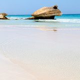 in oman coastline sea ocean   gulf rock and beach relax near sky - 182835699