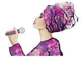African Jazz singer - 182836845