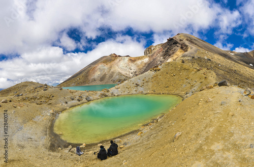 Fotobehang Fyle Tongariro Crossing