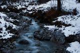 Bach Herbst Halltal Karwendel Alpen - 182843692