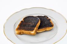 """Постер, картина, фотообои """"burnt toast slices of bread"""""""