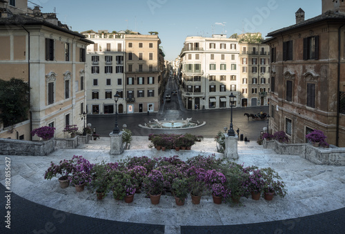 Foto op Canvas Rome Spanish Steps, Rome, Italy