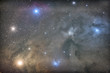 Star field and nebulae in Rho Ophiuchus Captured
