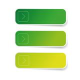 Empty green label set - 182862624
