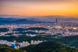 Taipei, Taiwan Skyline - 182863267