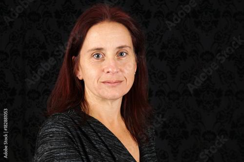 Papiers peints Zen Middle aged woman