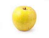 yellow apple isolated - 182881853