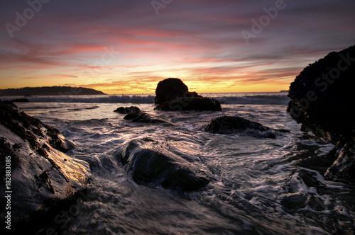 Deurstickers Zee zonsondergang sunsets