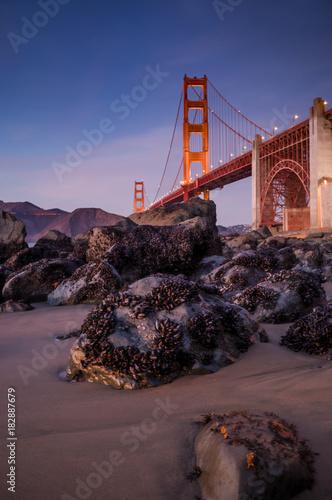 Plexiglas San Francisco golden gates views