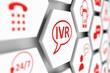 IVR concept cell blurred background 3d illustration - 182894676