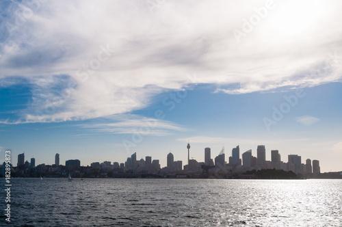 Plexiglas Sydney Sydney cityscape urban background