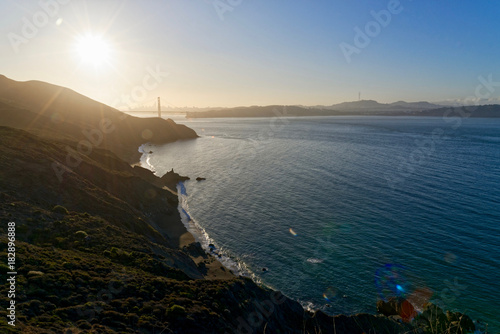 Plexiglas San Francisco San Francisco Bay at sunrise