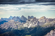 Quadro Dolomitic landscape with crests and summits, Cortina d'Ampezzo, Italy