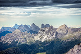 Dolomitic landscape with crests and summits, Cortina d'Ampezzo, Italy - 182905474