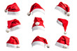 Quadro Christmas hat on white background