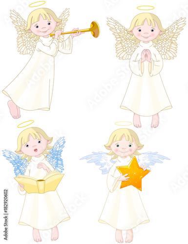 Poster Sprookjeswereld Angels Set