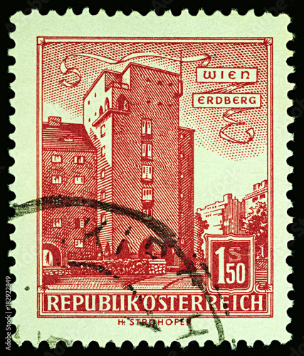 Tuinposter Wenen Housing