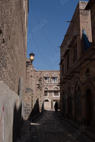 Plexiglas Smalle straatjes Yemen