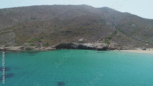 Aluminium Tropical strand Grèce Cyclades île d' Ios