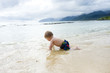 One Year Old In Pacific Ocean