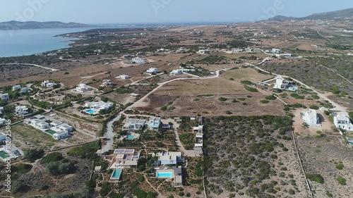 Grèce Cyclades île de Paros Village de Lefkes