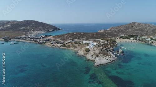 Keuken foto achterwand Groen blauw Grèce Cyclades île de Paros plage de Kolymbithres