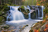 unterer Elbfall im Riesengebirge - waterfall from river Elbe in the Giant Mountains