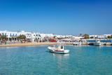 The port of Antiparos island, Greece - 182936201