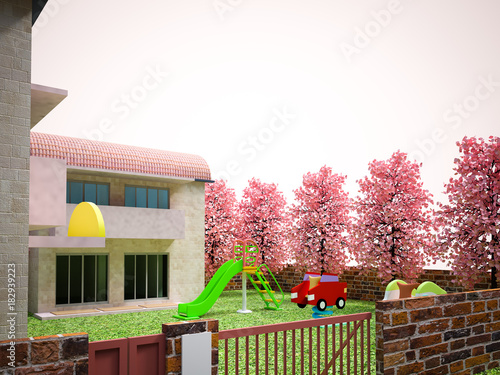 Fototapeta 幼稚園・保育園