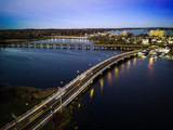 Aerial View of Red Bank Sunset - 182984471