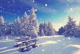Wintertraum - Rastplatz im Schnee - 182988888