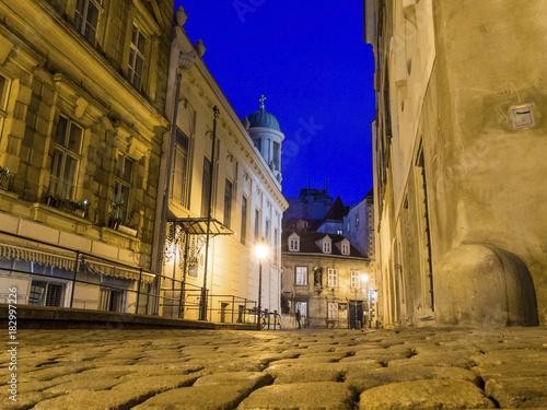 Foto op Plexiglas Wenen vienna. austria. greeks alley