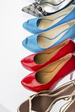 shoes with high heels - 182997649