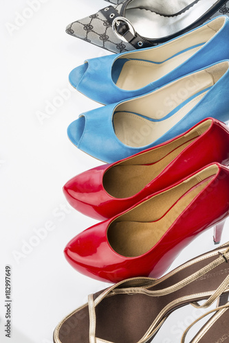 Fototapeta shoes with high heels