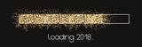 Loading 2018 - golden Stars loading bar - 182998057