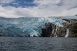 Blackstone Glacier, Blue Ice, Flowing Water, Prince William Sound, Alaska