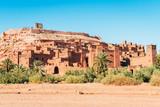 amazing ouarzazate kasbah fortification, morocco - 183012414