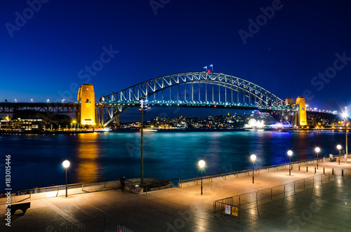 Poster Sydney Harbour Bridge Sydney