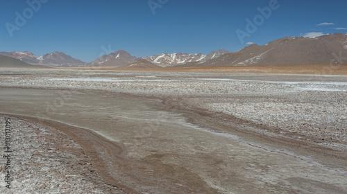 Foto op Canvas Grijs Landscapes of Bolivia
